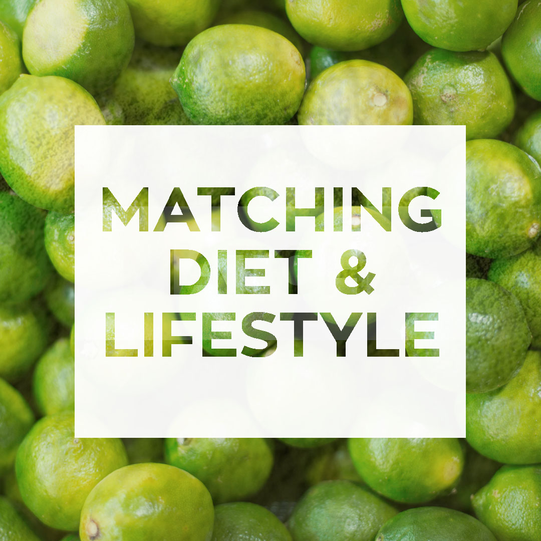 Matching diet and lifestyle2